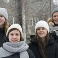 Les membres du collectif Kopula (de gauche à droite) : Kassandra Bonneville, Kati Peltola, Caoimhe Isha Beaulé, Marie-Hélène Roch. Crédit Photo: Sarah Bouchaïb