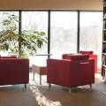 Espace de lecture au 4e étage du pavillon Maximilien-Caron. Crédit Photo : Charles-Olivier Bourque
