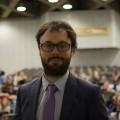 Nicolas Lavallée, secrétaire général sortant de la FAÉCUM.Crédit: Sarah Bouchaïb