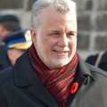 Le Premier ministre du Québec, Philippe Couillard, a finalement décidé d'abolir les clauses « orphelin ».(Photo : Wikimedia Commons | Asclepias)