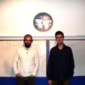 Mehdi Fichtali et Nicolas Angers de Blitz tutorat.Crédit photo : Héloïse Bargain
