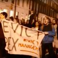 Capture d'écran de la vidéo « #RentStrike - Join the Rent Strike! ?» réalisée par UCL, Cut The Rent Campaign.
