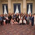 Une cérémonie officielle honorant l'équipe de hockey féminin des Carabins a eu lieu le 24 mai à l'Assemblée Nationale. Photo : Twitter des Carabins.