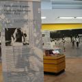 D'abord prévue jusqu'au 20 mai, l'exposition « Écrire contre la guerre. Ingeborg Bachmann 1926-1973. » a été prolongé au moins de juin. Photo : Nawal Maftouh.