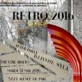 La Rétrospective 2016 est la projection des films des étudiants , suivi par la remise des prix par un jury formé de professionnels du milieu cinématographique. Photo : Affiche de l'événement.