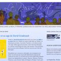 Capture d'écran du blogue littéraire Le Passe Mot - http://passemot.blogspot.ca