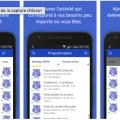 L'application permet aux étudiants de connaître rapidement les événements de la rentrée. Photo : capture d'écran de l'application.