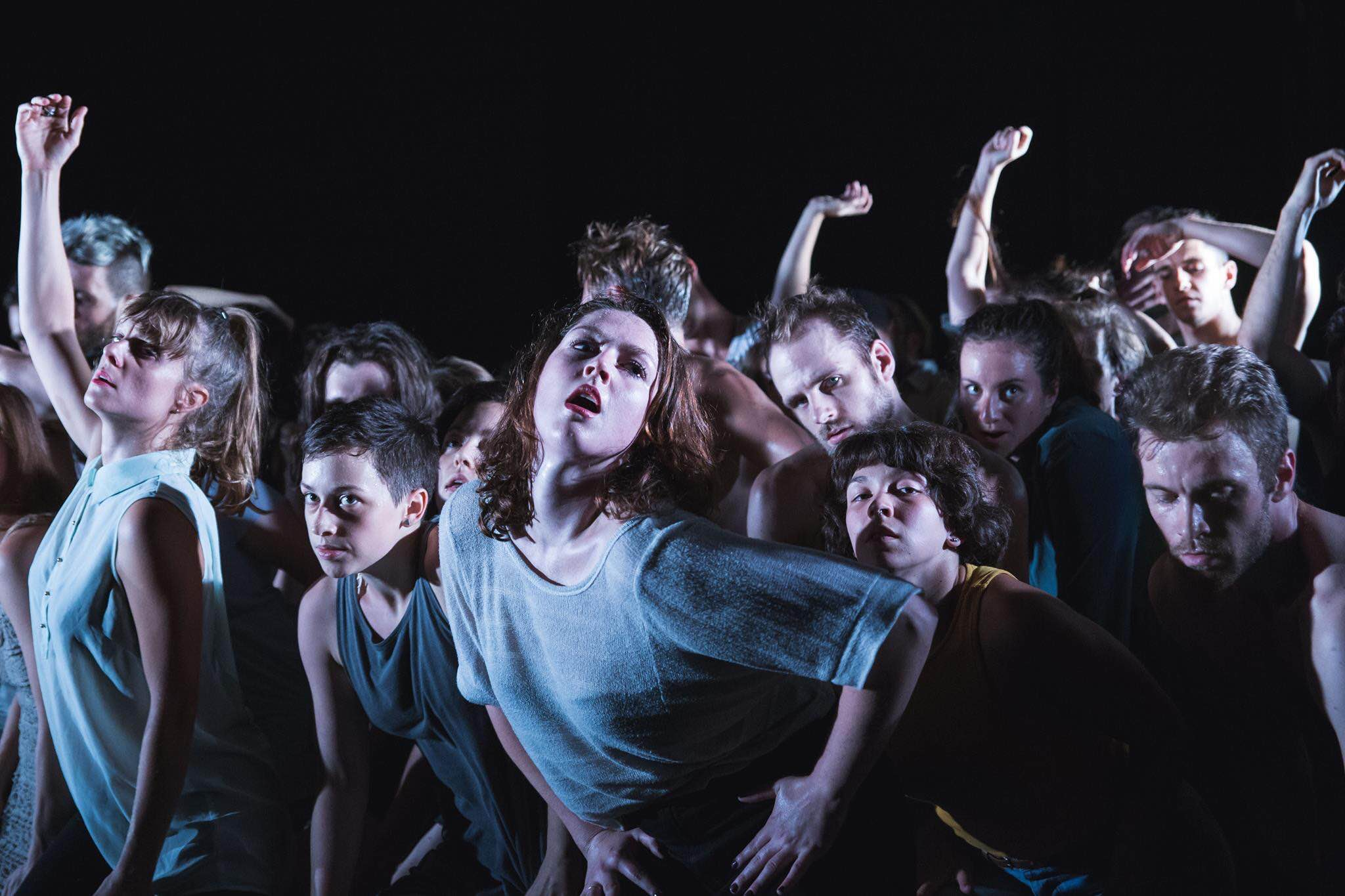 La pièce de théâtre Ma(g)ma a été présentée au festival Zone Homa 2015. Courtoisie Jules Bédard.