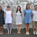 L'équipe gagnante : Nelly Chriswell Manana, Andrée-Anne Caron-Boisvert, Cloë Cousineau, Florence Goulet-Pelletier et Simone Dalla Rosa. Courtoisie Andrée-Anne Caron-Boivert