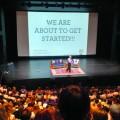 Le fondateur du mouvement DATE SAFE, Mike Domitrz, a présenté la conférence Can I Kiss You ? à l'Université Bishop's afin d'aborder entre autres les questions de consentement et du respect de l'intimité. Crédits photo : Katherine Hébert-Metthé