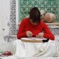 Maha Saoud a été enseignante à l'Institut des Beaux Arts de Sousse, près de Tunis. Créditphoto : courtoisie Maha Saoud.