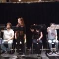 La troupe du TUM à la répétition du 4 novembre dernier. Crédit photo: Janis Le Dalour.
