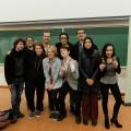 Les membres de l'équipe de débat de l'UdeM lors de la Coupe Pierre-Éliott Trudeau, qui se déroulait à l'Université d'Ottawa les 22 et 23 octobre dernier. Photo: Courtoisie Mehdi Labadie et Matthias Laurin.