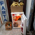 Beaucoup de commerçants et de consommateurs jettent les aliments lorsque ces derniers approchent de la date d'expiration alors qu'ils sont encore consommables selon les deux étudiants /Photo : courtoisie Lalique Brown et Oumar Imadine
