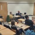 Une conférence du politologue Denis Monière sur l'histoire du mouvement indépendantiste/Photo : courtoisie Semaine de l'Indépendance ULaval