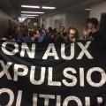 Les étudiants de l'UQAM lors de la grève du 21 novembre/photo : Courtoisie ABICEP