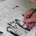 Capture d'écran du reportage L'Épervier de Patrice Pellerin, dessinateur et scénariste français de bandes dessinées.