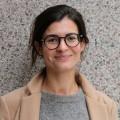 L'étudiante à la maitrise en muséologie, Violette Loget, a remporté le prix Roland-Arpin 2016 avec son mémoire Jeunes et philanthropes : cultiver la vocation philanthropique des nouvelles générations dans les musées montréalais. Crédit photo : Mathieu Gauvin.