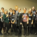 Le comité organisateur de l'édition 2015 du colloque VocUM. Crédit photo : Courtoisie Nicolas Mornard