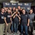 L'équipe gagnante du club GéniAle de l'ETS après sa victoire le 11 novembre_Photo : REFLETS Nico Crevier