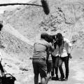 Le tournage du film Déserts dans la mythique Vallée de la mort. Crédit photo : Guillaume Collin.
