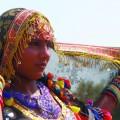 En Inde, les femmes ne peuvent pas être prise en photo dans leur vie quotidienne mais seulement quand elles dansent. Crédit photo : Courtoisie Marianne-Sarah Saulnier.
