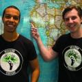 Le travail des deux étudiants, Sidi Ba et Guillaume Bourque, a été récompensé en 2015 par le prix de l'engagement étudiant qu'ils ont intégralement reversé à la mission. Crédit photo : Mathieu Gauvin.