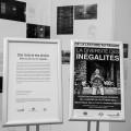 Une bibliographie thématique accompagne les photographies. Crédit photo : Mathieu Gauvin.