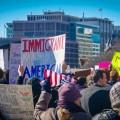 Les manifestations anti-Trump se sont multipliées depuis son assermentation le 20 janvier dernier. Crédit photo : Courtoisie Flickr.com | Ted Eytan