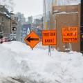 En décembre 2016, 94 des 102 chantiers répertoriés sur l'Île de Montréal étaient situés dans l'une des agglomérations de la Ville. Crédit photo : Marie Isabelle Rochon.