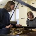 Le « duo Tinder » Cassandre Henry et Vincent Debons-Ricard. Crédit photo : Marie Isabelle Rochon