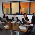 Le conseil d'administration du WIIS-UdeM est en place depuis la session d'automne 2016. (Crédits: Etienne Galarneau)