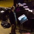 Le responsable du DESS en musique de film à l'UQAM ainsi que le chargé de cours à l'UdeM Francois-Xavier Dupas, créateurs du studio Vibe Avenue. Crédit photo : Courtoisie Vibe Avenue.