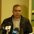 Le père de Bissan EId, Hadi, lors de la conférence de presse jeudi 13 avril dernier. Crédit photo : Jean-Philippe Hugues