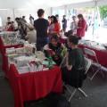Le Marché de la poésie, ouvert du 1er au 4 juin, permettra aux passants de découvrir les plus récents textes de certains éditeurs québécois par des ateliers de lecture publique. (Photo: Courtoisie Isabelle Courteau)