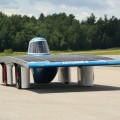 La voiture solaire Esteban 8. (Photo : Courtoisie de Viviane Aubin)