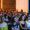 Une soirée de projection du documentaire Girl Power était organisée le 28 août dernier par Les Filmnistes, en collaboration avec ARTGANG.  Une discussion en présence d'artistes d'art urbain était également au programme. crédit photo: Stéphanie Dupuis