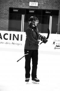 L'entraîneure-chef des Carabins, Isabelle Leclaire. (Photo: Félix Lacerte-Gauthier)
