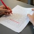 L'Université de Cambridge s'interroge sur l'abandon de l' écriture manuscrite, obligatoire pour les examens. (crédit photo : Jèsybèle Cyr)