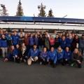 L'équipe du Club d'aviron de l'UdeM (Photo : courtoisie du Club d'aviron)