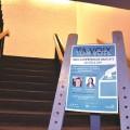 La FAECUM a invité les deux principaux candidats à la mairie de Montréal, Denis Coderre et Valérie Plante. (Photo : Thomas Martin)