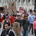L'ASSÉ a profité d'une visibilité médiatique accrue lors des manifestations étudiantes de 2012 (Photo: Wikimedia Commons | Socialist Canada)