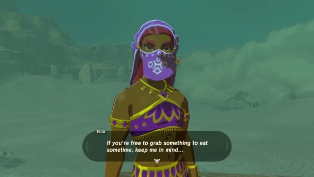Image : Capture d'écran du jeu Breath of the Wild   Nintendo