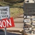 Des individus ont marqué leur insatisfaction à l'annonce de la fermeture des sentiers. (Photo: Etienne Galarneau)