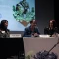 Les intervenantes étaient réunies pour parler de la place des femmes dans la sécurité internationale. (Crédit photo : Courtoisie WIIS-Canada)