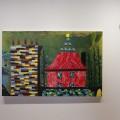 L'exposition Sans soucis sois sans soucis de Nicolas Ranellucci aborde les endroits qu'on fréquente au quotidien, comme la maison. (Photo : Courtoisie Nicolas Ranellucci)