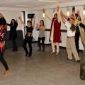 Des cours de danse ont été offert dans le cadre d'une édition précédente de la semaine interculturelle. (Photo : Courtoisie Action Humanitaire Communautaire)