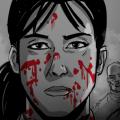 Des storyboards ayant servi à la réalisation du film Les Affamés sont exposées à la Cinémathèque québécoise jusque,au 3 mars prochain. (Crédit : Courtoisie Québec Cinéma)
