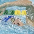 La nageuse des Carabins Sandrine Mainville a également été décorée par le RSEQ plus tôt durant la saison. (Photo: Courtoisie Yves Longpré)