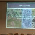 Extrait de la présentation de l'étudiant Julien Arsenault. (Photo: Mylène Gagnon)